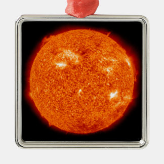 Solar activity on the Sun 3 Christmas Ornament