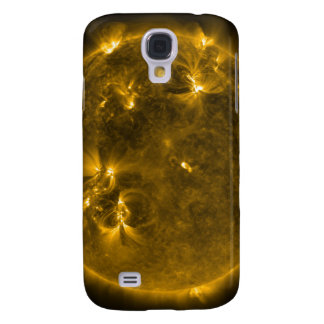 Solar activity on the Sun 4 Galaxy S4 Case