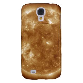 Solar activity on the Sun 5 Galaxy S4 Case