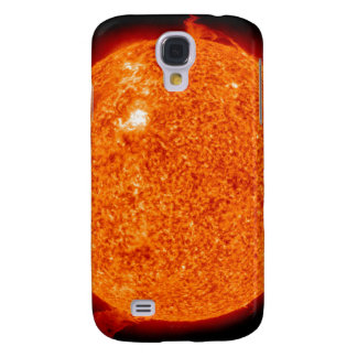 Solar activity on the Sun Galaxy S4 Case