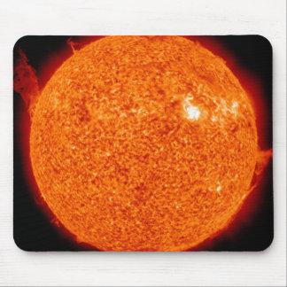 Solar activity on the Sun Mouse Mat