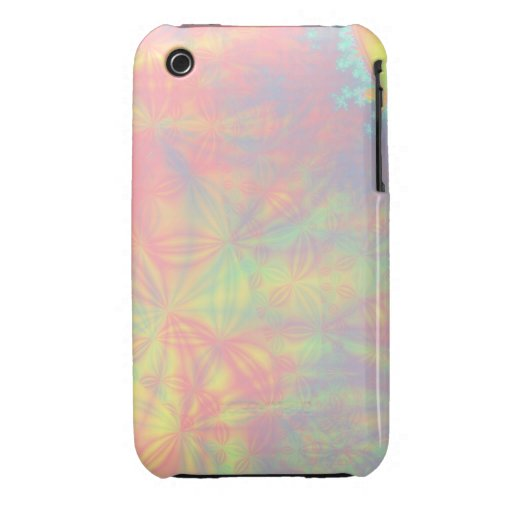 Solar Burst, Fractal Art. Colorful. Case-Mate iPhone 3 Cases