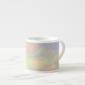 Solar Burst, Fractal Art. Colorful. 6 Oz Ceramic Espresso Cup