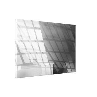 Solar cat canvas print