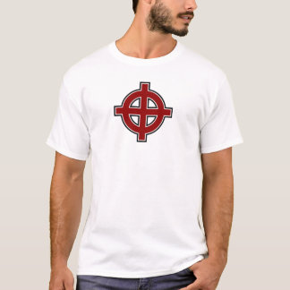 Solar Cross (red, white & black) T-Shirt