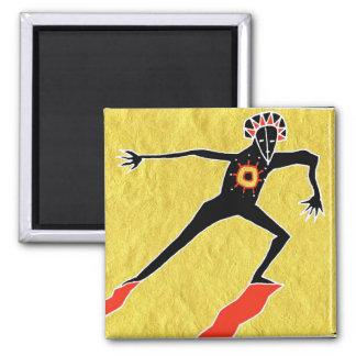 solar dance refrigerator magnet
