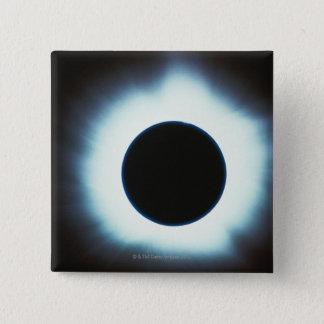 Solar Eclipse 15 Cm Square Badge