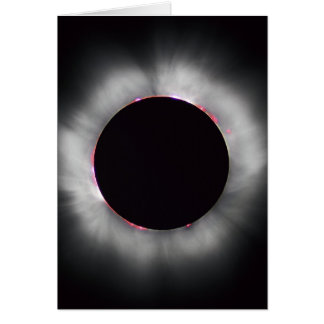 Solar Eclipse, 1999 Greeting Card