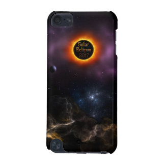 Solar Eclipse 2017 Nebula Bloom iPod Touch 5G Cases