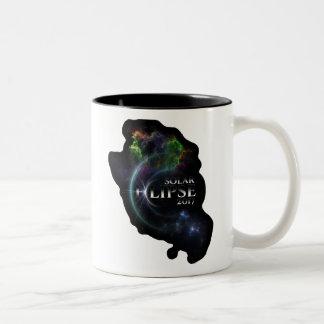 Solar Eclipse 2017 Two-Tone Coffee Mug