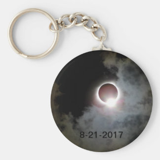 Solar Eclipse August 21st 2017 Key Ring