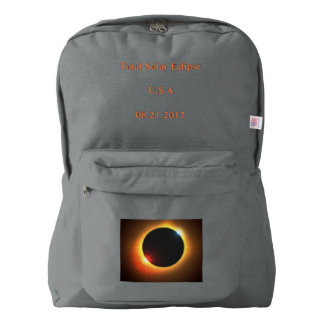 Solar Eclipse Back Pack