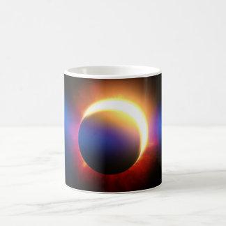 Solar Eclipse Basic White Mug