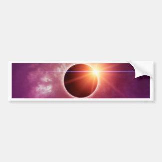 Solar Eclipse Bumper Sticker