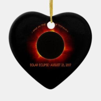 Solar Eclipse Christmas Ornament