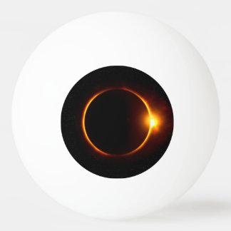 Solar Eclipse Dark Sun & Moon Ping Pong Ball