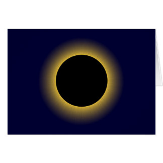 Solar eclipse Eclipse Greeting Card
