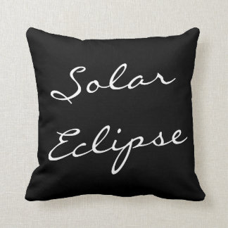 Solar Eclipse kissing Cushion