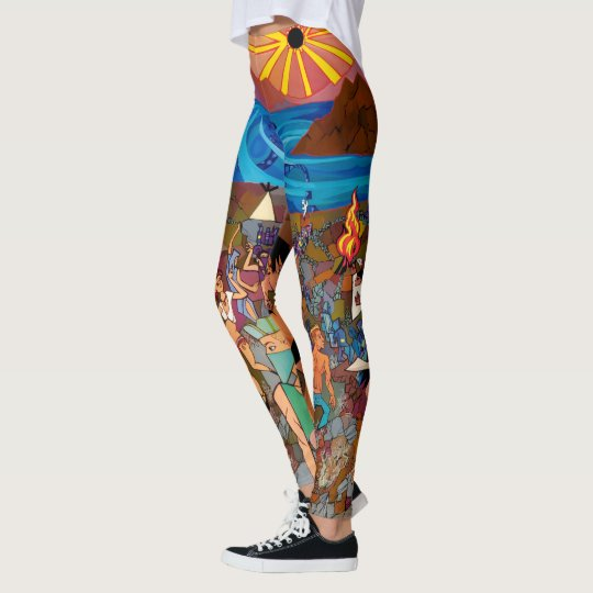 Solar Eclipse Leggings