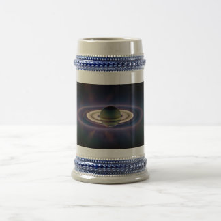 Solar Eclipse Of Saturn from Cassini Spacecraft Coffee Mug