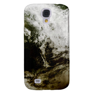 Solar eclipse over southeast Asia Galaxy S4 Case