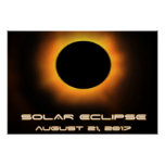Solar Eclipse Poster