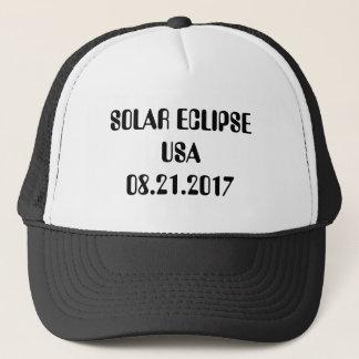 Solar Eclipse USA Trucker Hat August 21, 2017