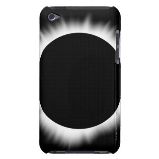 Solar Eclipse with Corona iPod Touch Case