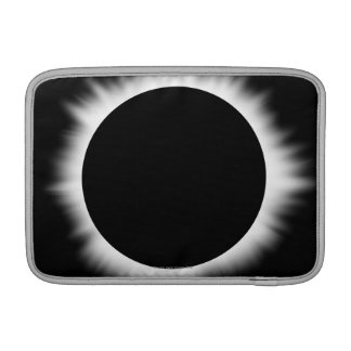 Solar Eclipse with Corona MacBook Sleeves