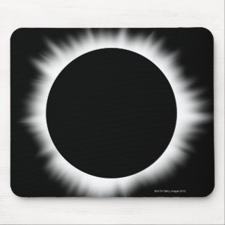 Solar Eclipse with Corona Mouse Pad