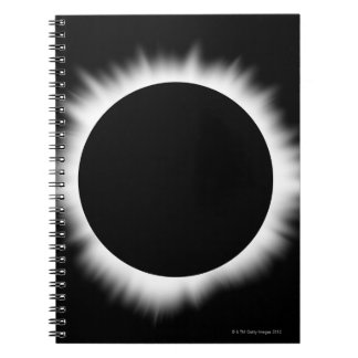Solar Eclipse with Corona Notebooks