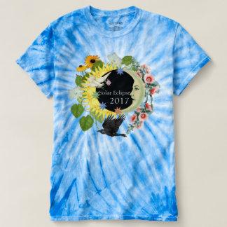 Solar Eclipse Women's TieDye TShirt / Customizable
