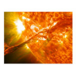 Solar Eruption Postcard