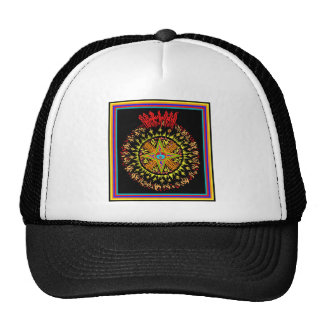 Solar Flair Mesh Hats