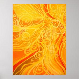 Solar Flair Print