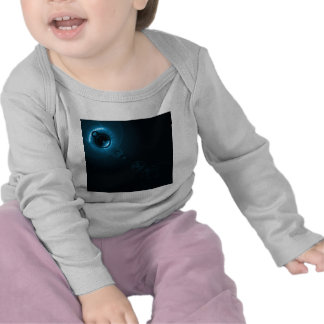 Solar flare Aqua Tshirt