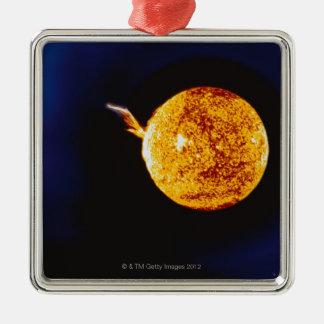 Solar Flare Christmas Ornament