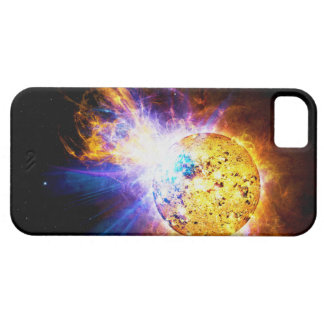 Solar Flare from the Star EV Lacertae EV Lac iPhone 5 Cover