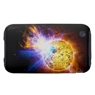 Solar Flare from the Star EV Lacertae EV Lac iPhone 3 Tough Case