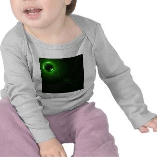 Solar flare Green Shirts