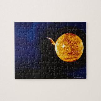 Solar Flare Jigsaw Puzzle