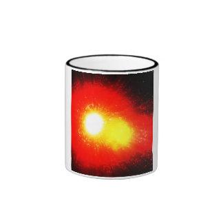 Solar Flare Ringer Coffee Mug