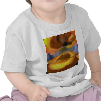 Solar Flare Pastel Abstract T-shirts