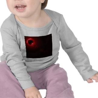 Solar flare Red Tshirts