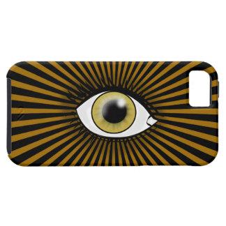 Solar Hazel Eye iPhone 5 Cases