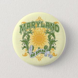 Solar Maryland 6 Cm Round Badge