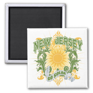 Solar New Jersey Magnet