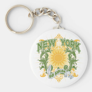 Solar New York Key Ring