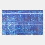 Solar panel 長方形シール・ステッカー