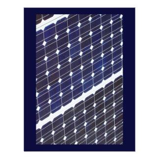 Solar panel 21.5 cm x 28 cm flyer